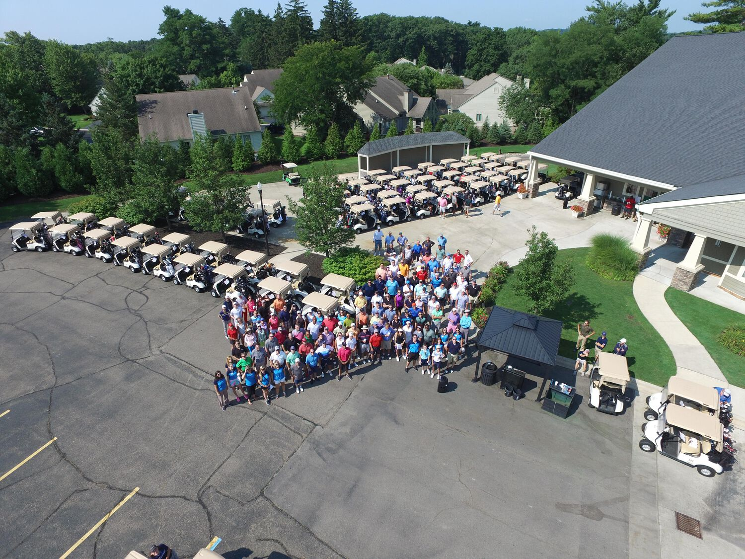 Athletes Unlimited Golf Outing 2018